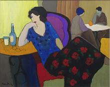 Isaac TARKAY - Peinture - WAITING