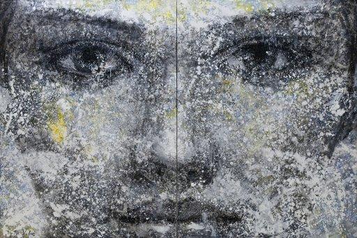 Montse VALDÉS - Painting - 1-7-20 (diptych)