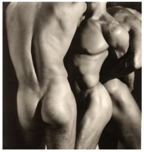 赫伯•里兹 - 照片 - Three Male Torsos. Los Angeles