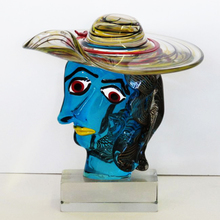 """Walter FURLAN - Sculpture-Volume - Hommage to Picasso"""" - Portrait of Marie Therese"""