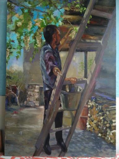 Ohanyan KAMSAR - Peinture - Warm day on September
