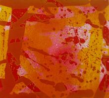 Sam FRANCIS - Estampe-Multiple - Red Coral