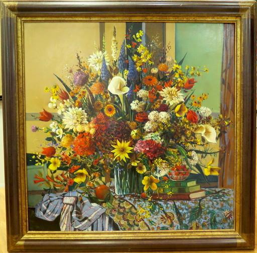 Robert VERNET-BONFORT - Pittura -  Nature Morte