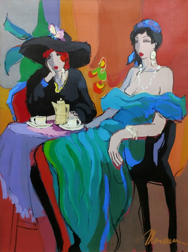 Isaac MAIMON - Pintura - CAFE BARCELONA