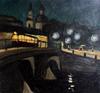 Valeriy NESTEROV - Pittura - Leningrad. Belinskogo bridge