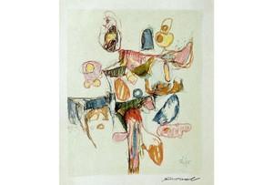 Rolf CAVAEL - Drawing-Watercolor