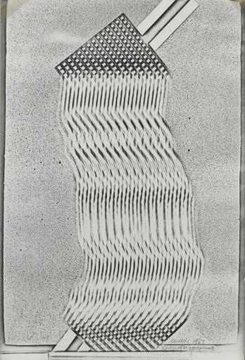 Bruno MUNARI - Estampe-Multiple - Xerografia originale