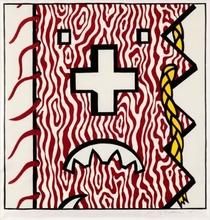 Roy LICHTENSTEIN - Print-Multiple - American Indian Theme IV