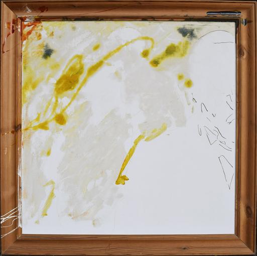 Mario SCHIFANO - Peinture - Cornice invasa