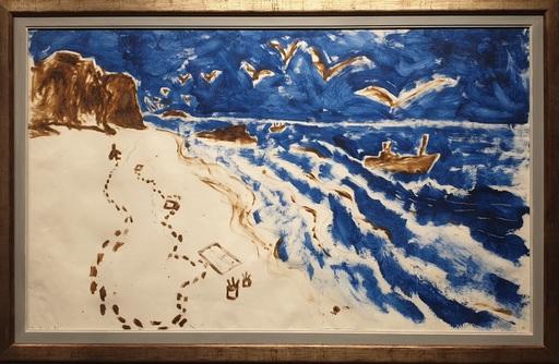 Miquel BARCELO - Painting - S.T.  - Algavre  - Portugal