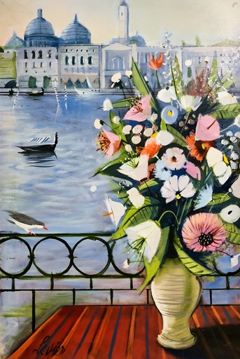 Charles LEVIER - Pintura - Venise