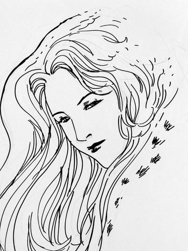 "MAKYO - Drawing-Watercolor - ""Balade au bout du monde"""