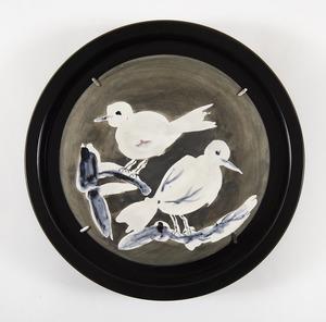 Pablo PICASSO - Ceramic - Two birds n°95 (A.R.487)