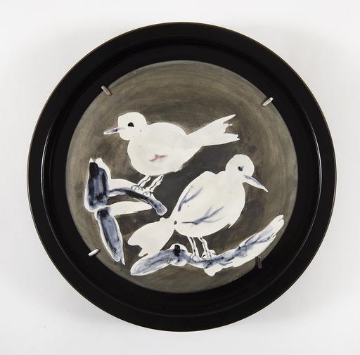 Pablo PICASSO - Céramique - Two birds n°95 (A.R.487)