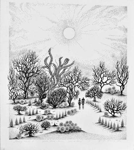Henryk PLOCIENNIK - Print-Multiple - Honeymoon D