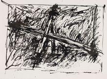Jannis KOUNELLIS - Drawing-Watercolor - Sans titre I