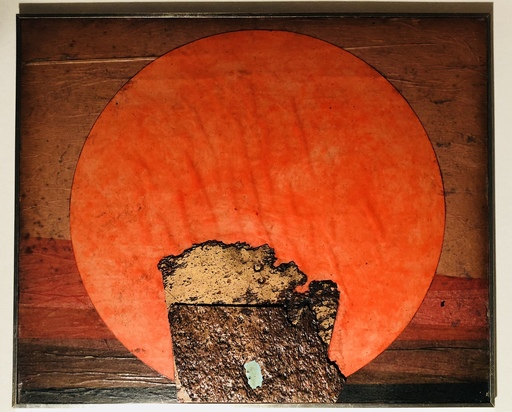 Roberto Gaetano CRIPPA - Painting - Soleil Rouge