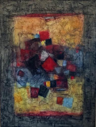 Gunther GUMPERT - Pittura - Untitled 8.