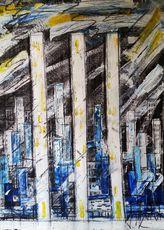 Vesna KRSMANOVIC - Pintura - Winter    (Cat N° 5301)