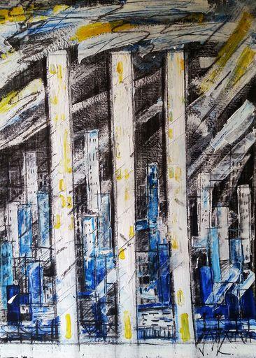 Vesna KRSMANOVIC - Painting - Winter    (Cat N° 5301)