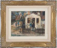 Maurice UTRILLO - Peinture - The maquis in Montmartre