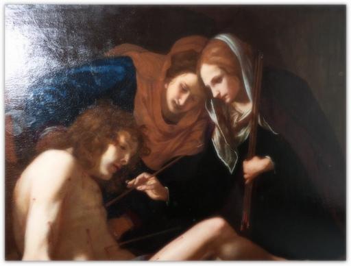 Jacopo VIGNALI - Pittura - St. Sebastian