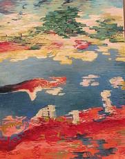 Walter SCHLEPPEGRELL - Painting - Abstrakte Komposition