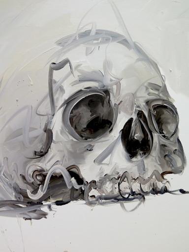 Philippe PASQUA - Gemälde - Crâne