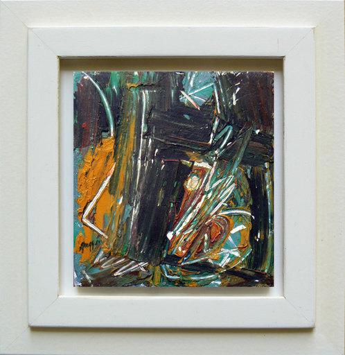 Piero RUGGERI - Painting - Paesaggio NF168