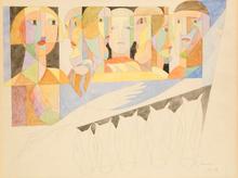 Léopold SURVAGE (1879-1968) - Les Têtes / Le Haras