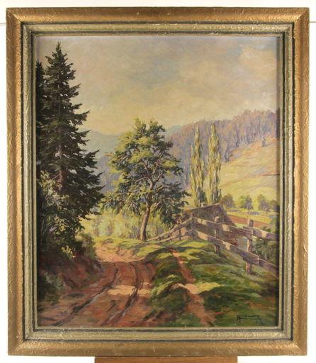 Albert FURTWÄNGLER - Peinture - Wildtaler Eck