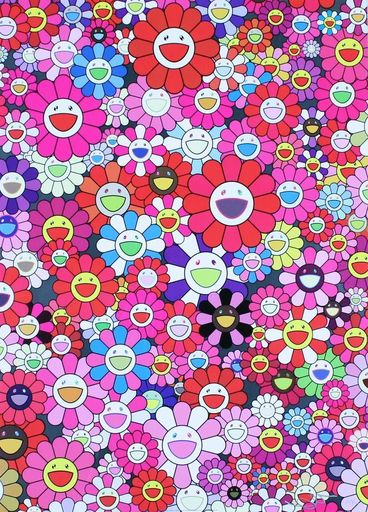 Takashi MURAKAMI - Estampe-Multiple - An Homage to Monopink, 1960 C