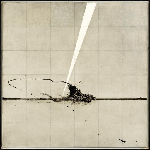 Emilio SCANAVINO - Peinture - Dall´ alto