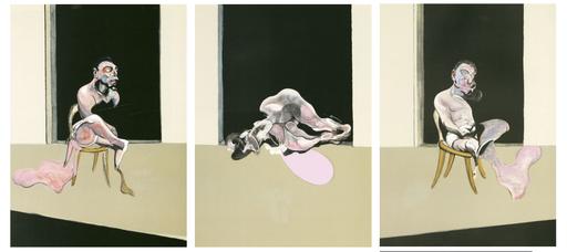 弗朗西斯•培根 - 版画 - Triptyque 1972