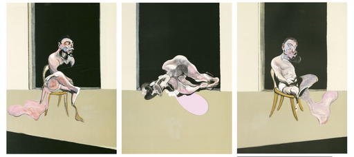 Francis BACON - Grabado - Triptyque 1972