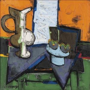 Claude VENARD - Painting - Le vase