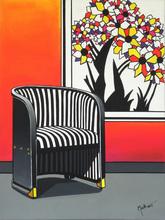 Brigitte THONHAUSER-MERK - Pintura - La chaise Hoffmann