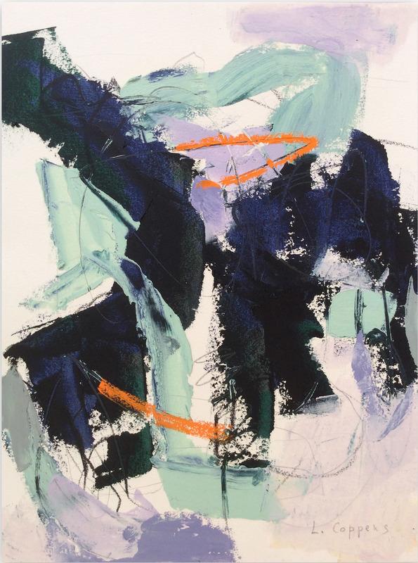 Linda COPPENS - 绘画 - 082017-1 Untitled
