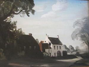 Philip Hugh PADWICK - Painting - The Hunters Lodge