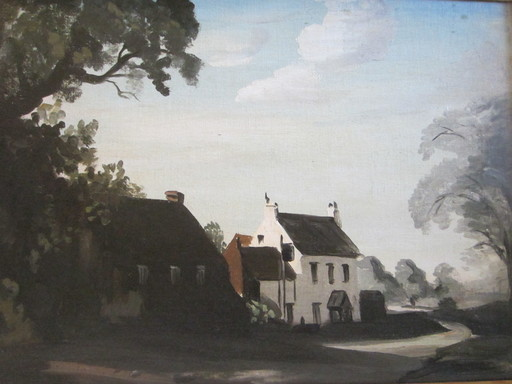 Philip Hugh PADWICK - Painting - The Hunters Lodge