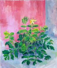 Ewa WITKOWSKA - Pintura - Wild flower