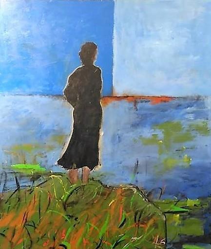 Giorgio CHIESI - Pittura - Una donna che sogna