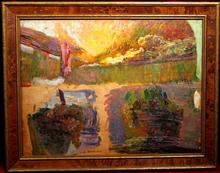Octave GUILLONNET - Gemälde - LES VENDANGES A CAPRI (ETUDE)
