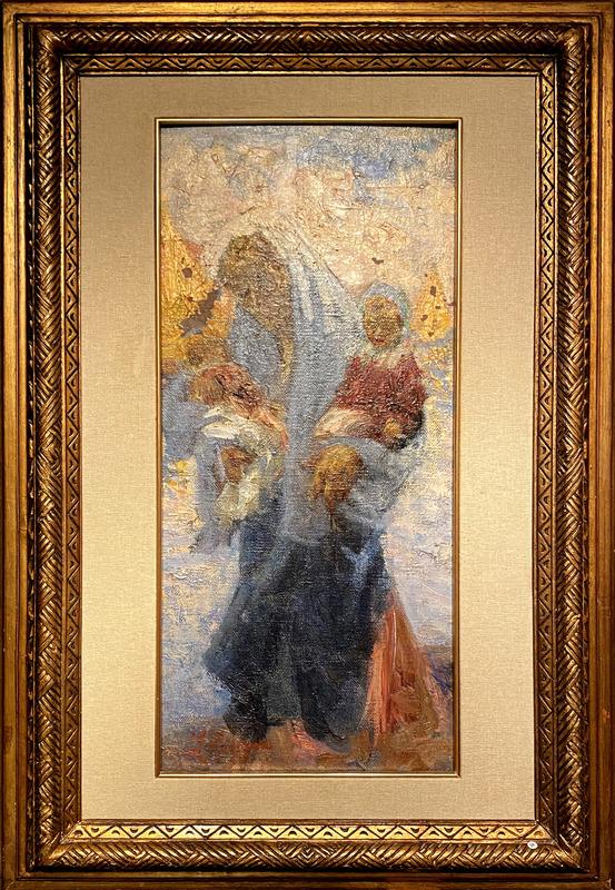 Leonardo BAZZARO - Pintura - Maternita