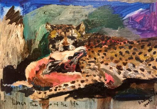 Julia PEKER-MOKHOVIKOVA - Pittura - Cheetah and Gazelle
