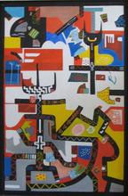Abol ATIGHETCHI - Gemälde - ZULU I