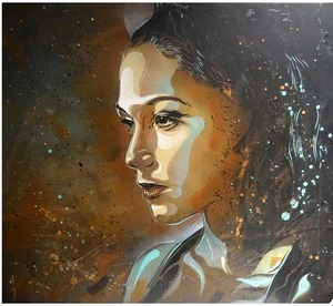 C215 - Peinture - Asleep from the day