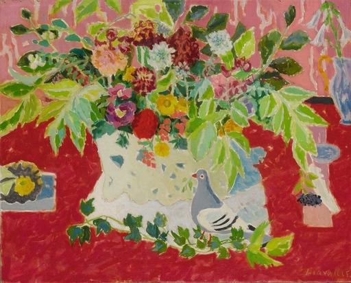 Jules CAVAILLES - Peinture - La Calombe