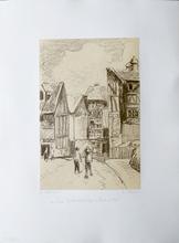 Camille PISSARRO (1830-1903) - Rue Eugene Dutuit a Rouen