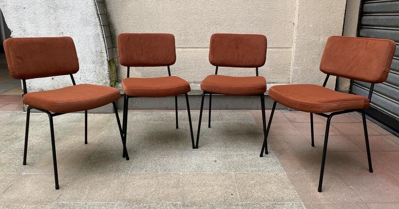 André SIMARD - Série de 4 chaises - André Simard